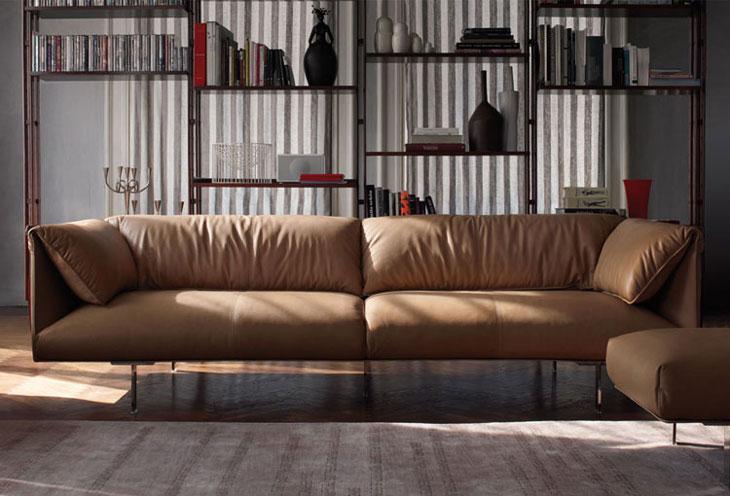 john john sofa by jean marie massaud for poltrona frau. Black Bedroom Furniture Sets. Home Design Ideas