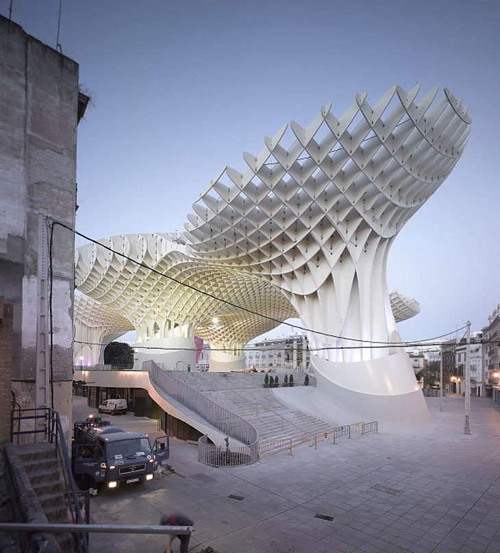 Metropol Parasol By J Mayer H Architects