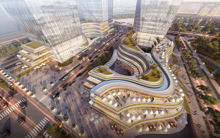 City Of South Gate >> South Nanjing Station City Square Planning by UA Studio 7