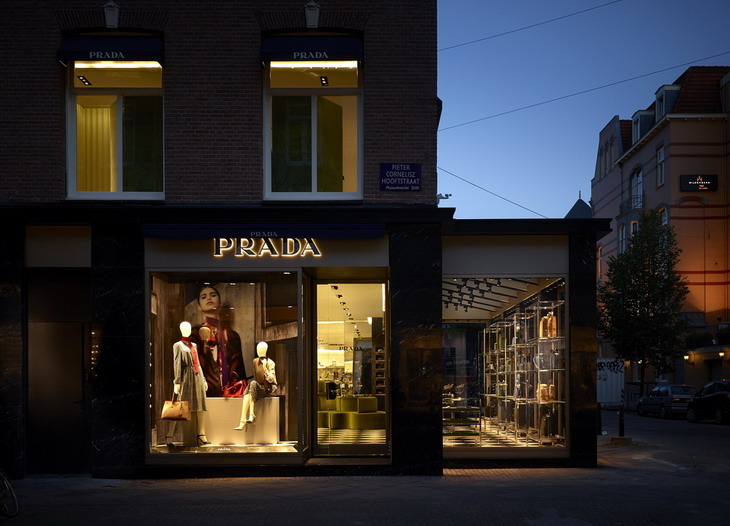 First Prada Store In Amsterdam By Roberto Baciocchi