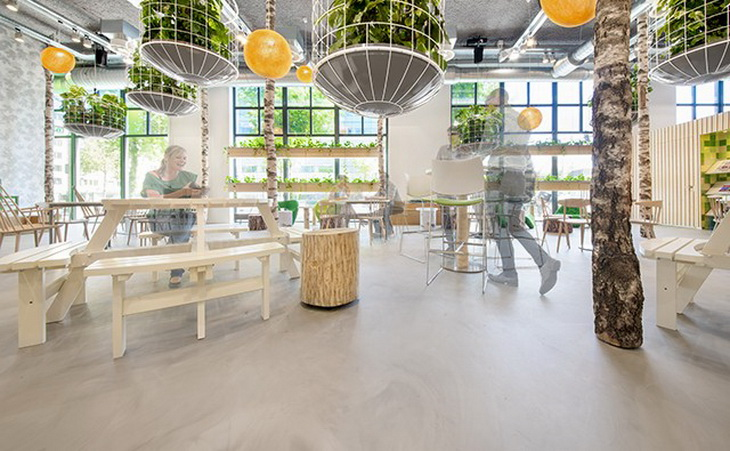 T park by cube architecten for Hotel amsterdam cube