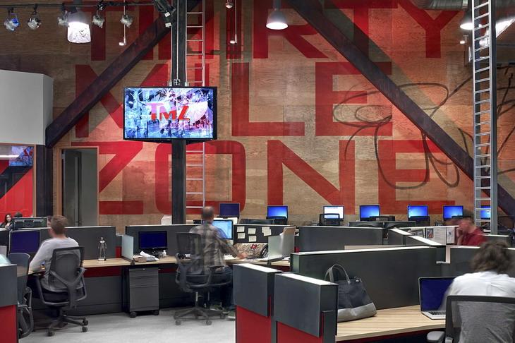 Tmz Newsroom By Rapt Studio