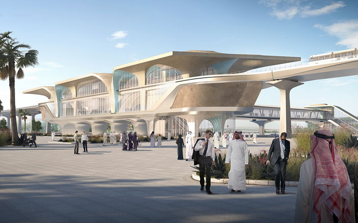 Qatar Integrated Railway Project by Ben Van Berkel / UNStudio
