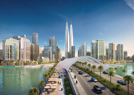 Dubai-Creek-Harbour-twin-towers-by-Emaar-Properties-and-Dubai-Holdings_archiscene_BN03