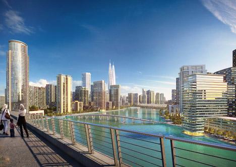 Dubai-Creek-Harbour-twin-towers-by-Emaar-Properties-and-Dubai-Holdings_archiscene_BN04