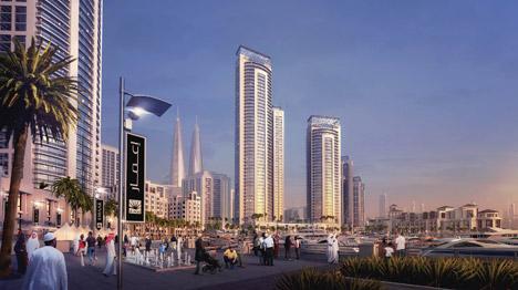 Dubai-Creek-Harbour-twin-towers-by-Emaar-Properties-and-Dubai-Holdings_archiscene_BN05
