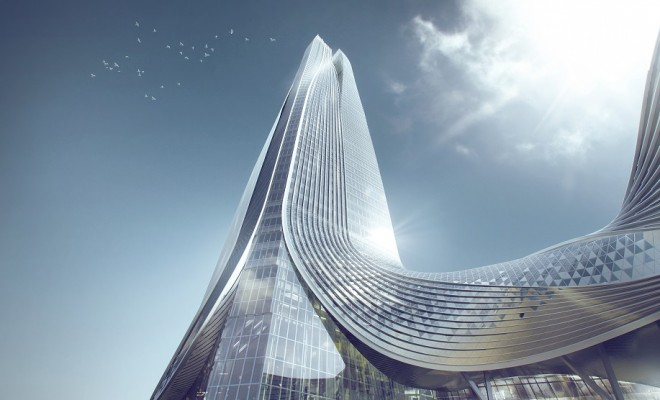 Hengqin International Financial Center, Zhuhai, China_ Project Design Directors - Keith Griffiths and Andy Wen (5)