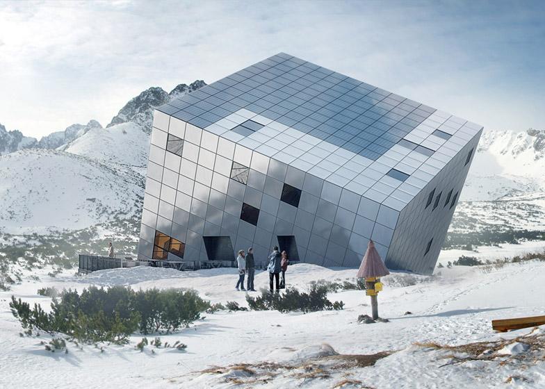 Mountain Hostel By Atelier 8000