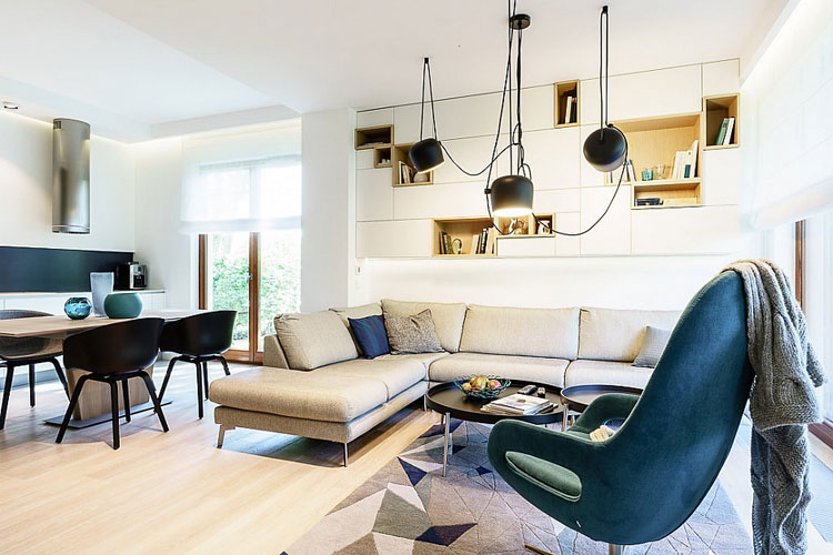 ... Modern Minimalist Apartment Gdynia Dragon Art Design Studio  ...
