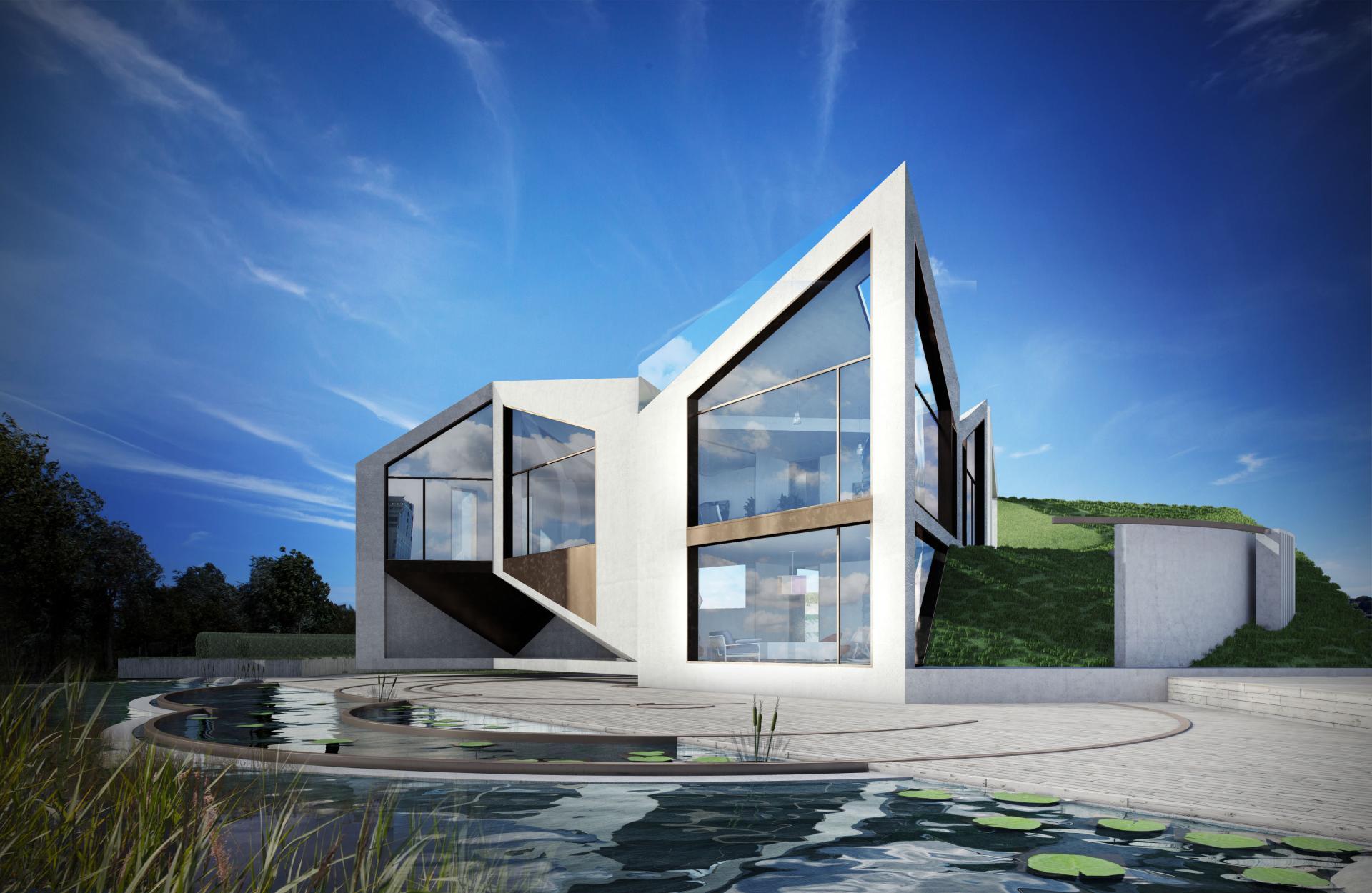 The D Haus By David Ben Gr 252 Nberg Amp Daniel Woolfson