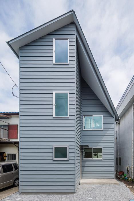 Asymmetric House By Snark X Ouvi