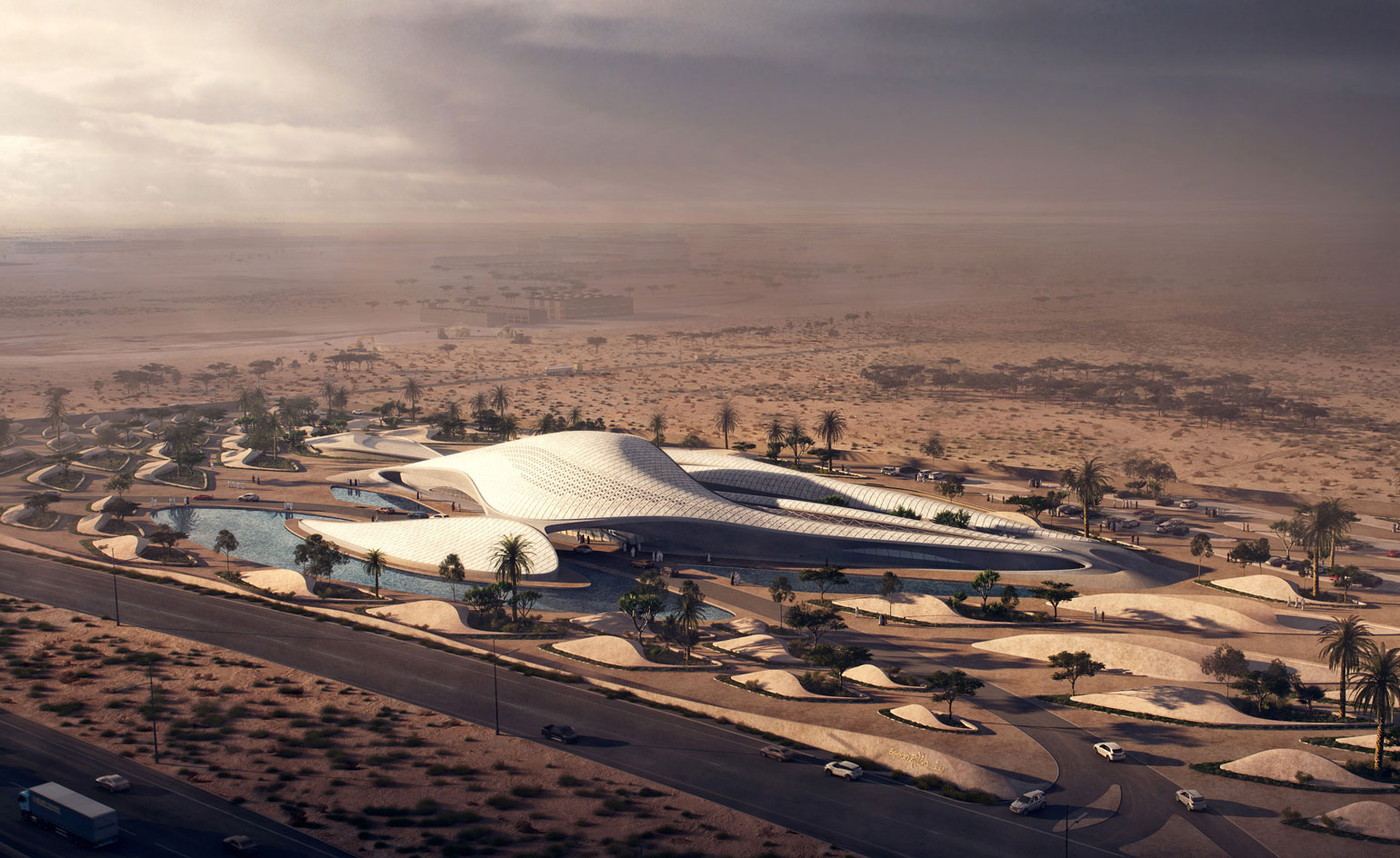 Uae Headquarters Of Bee Ah By Zaha Hadid Architects
