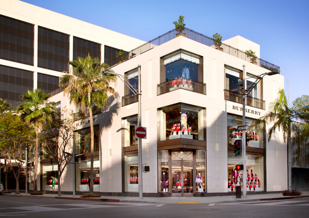 Burberry Beverly Hills Flagship Store Is Now Open