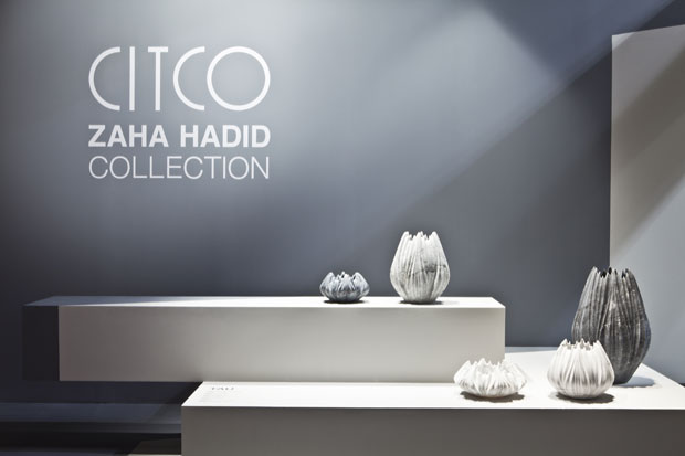 Vases And Tables For Citco Marbles By Zaha Hadid Architects