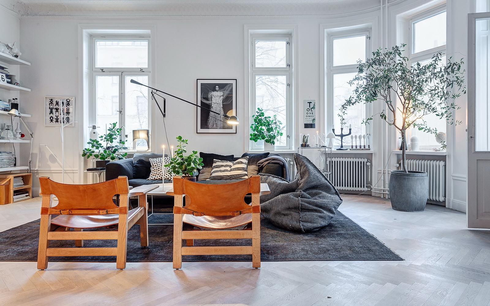 Arredamento Stile Nordico Moderno.Inspiring Apartment At Odengatan 35