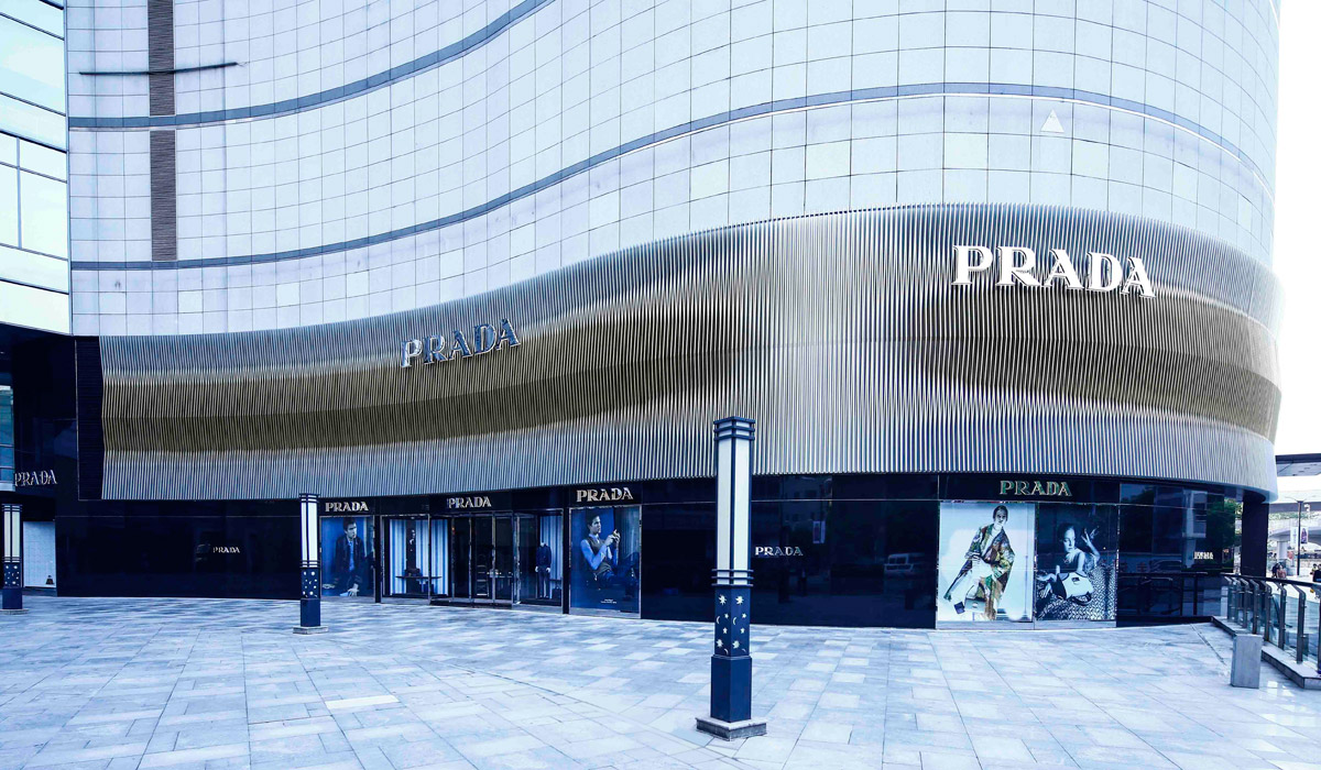 Prada Opens A New Store In Wuhan China