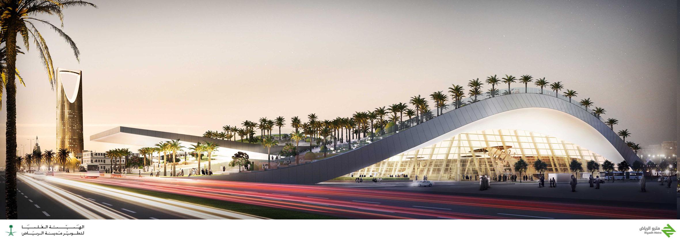 Olaya Metro Station By Gerber Architekten