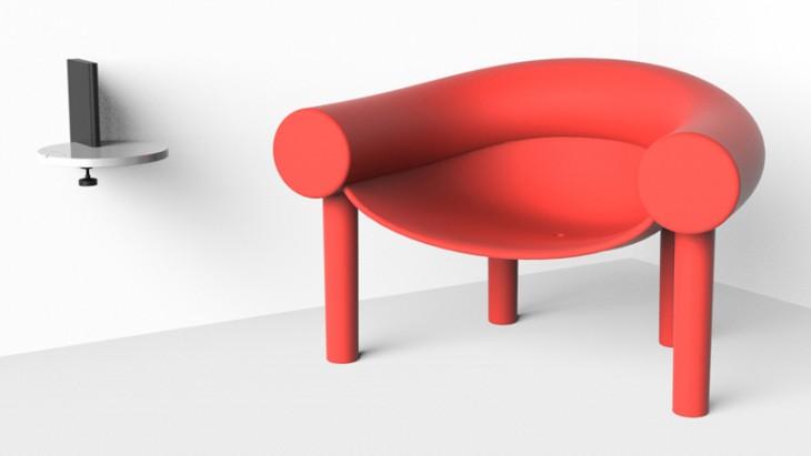 sam son chair by designer konstantin grcic. Black Bedroom Furniture Sets. Home Design Ideas