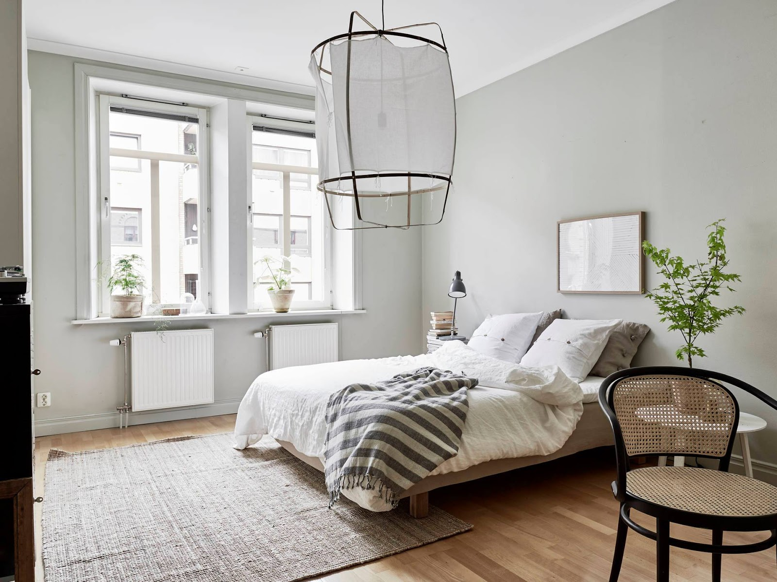 Two bedroom swedish apartment - Deco chambre style scandinave ...