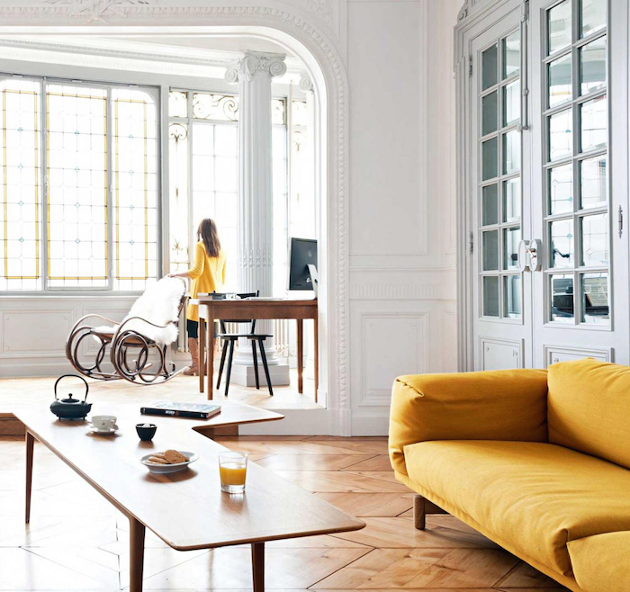 Www Find Apartments Com: Chic French Apartment Combines Old & New