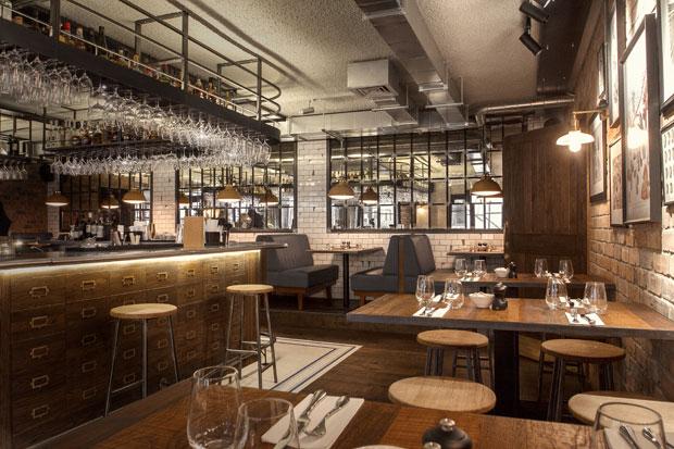 Industrial Take On An Italian Restaurant In London By B3