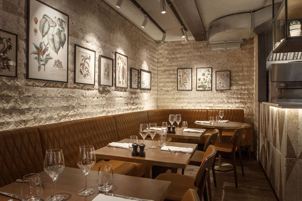 Industrial Take On An Italian Restaurant In London By B3