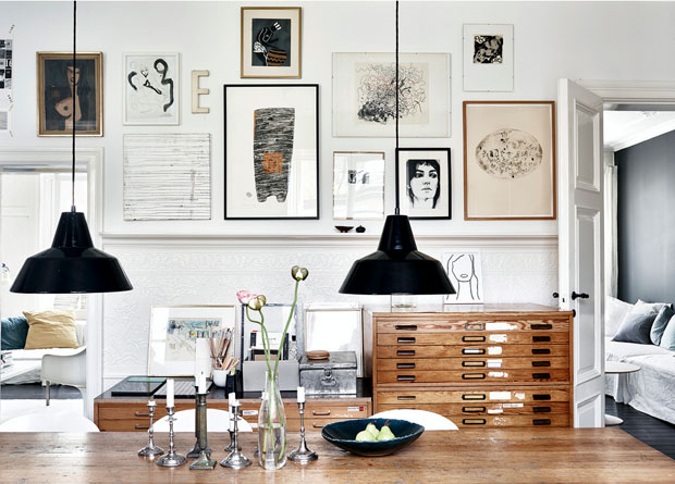 Black White Take On Nordic Design