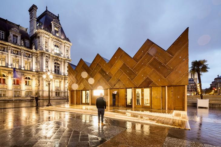 Circular Pavillon by Encore Heureux