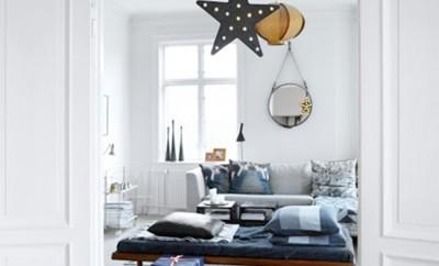 Festive Kopenhagen Apartment evokes Holiday Spirit