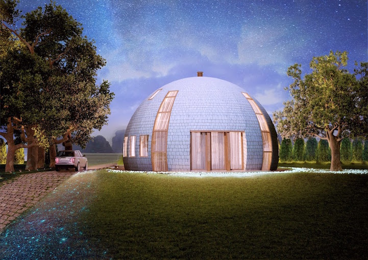 Skydome Contemporary Dome Houses From Russia