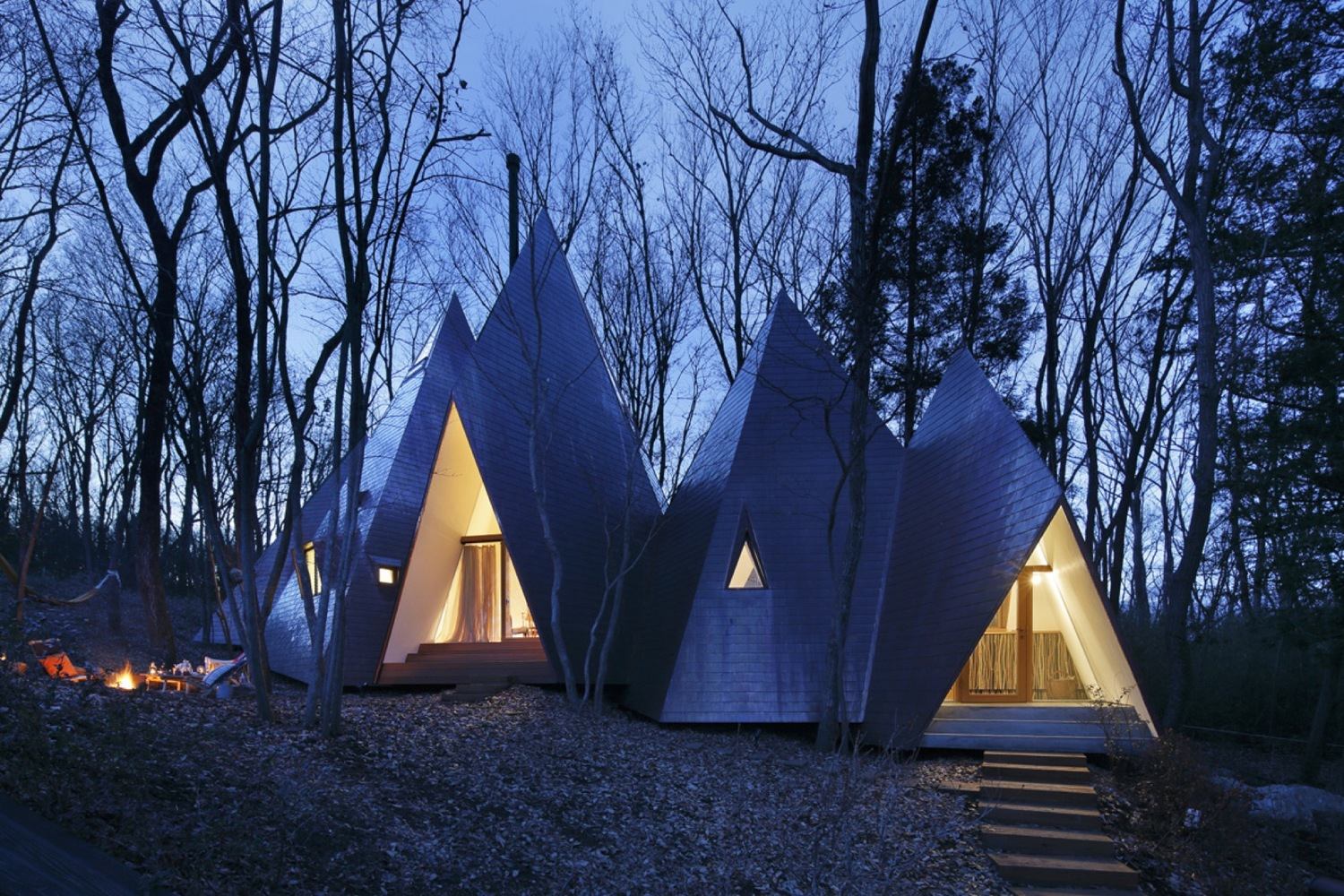 Nasu tepee by hiroshi nakamura nap archiscene your daily architecture design update - The tepee house eccentric design in the midst of the woods ...