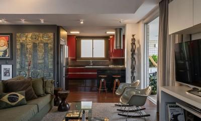 Neoklisches Interior Design Penthouse   Nate Berkus Interior Design Kitchen New York Home 3 20