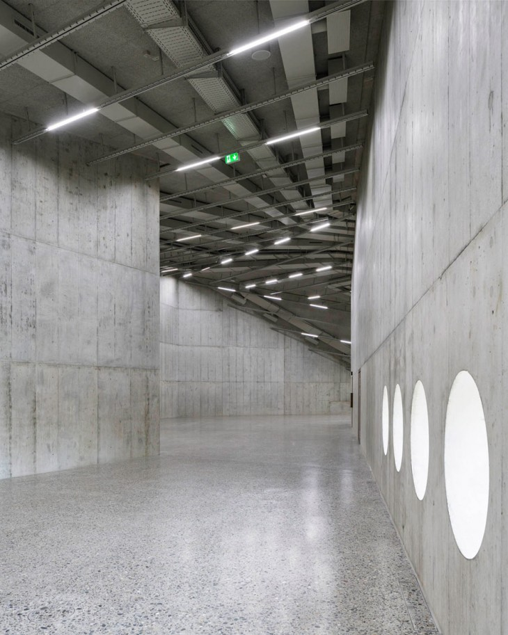 Concrete Extension for the Swiss National Museum (1)