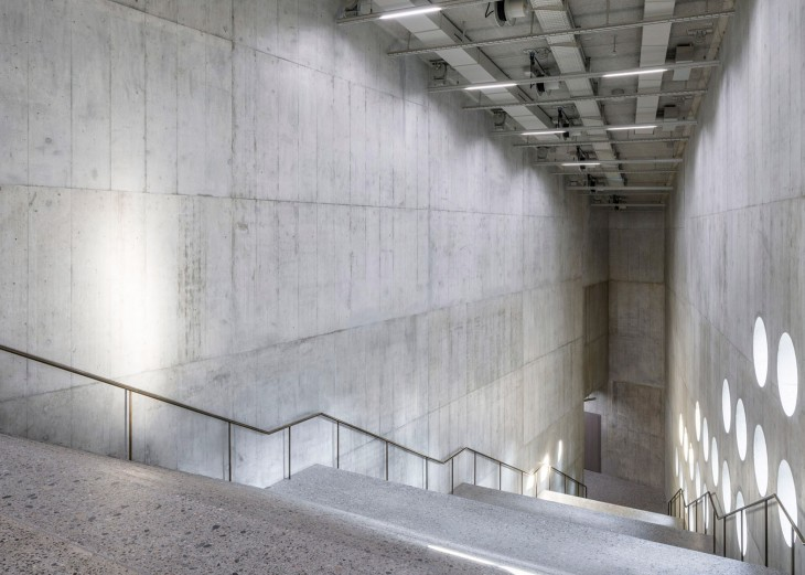Concrete Extension for the Swiss National Museum (3)