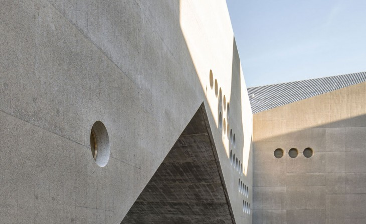 Concrete Extension for the Swiss National Museum by Christ & Gantenbein