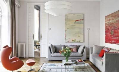 Culture Clash in stylish Barcelona Apartment