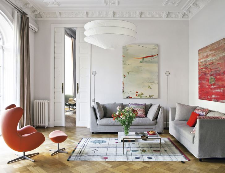 Culture Clash in stylish Barcelona Apartment