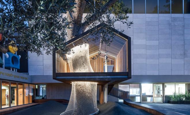IMJ tree house by Ifat Finkelman and Deborah Warschawski