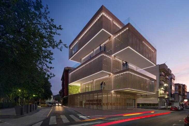 La Gota Cultural Center and Tobacco Museum by Ramiro Losada and Alberto García
