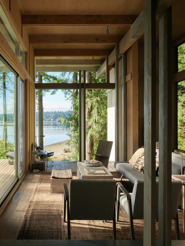 The Longbranch Cabin By Olson Kundig Architects