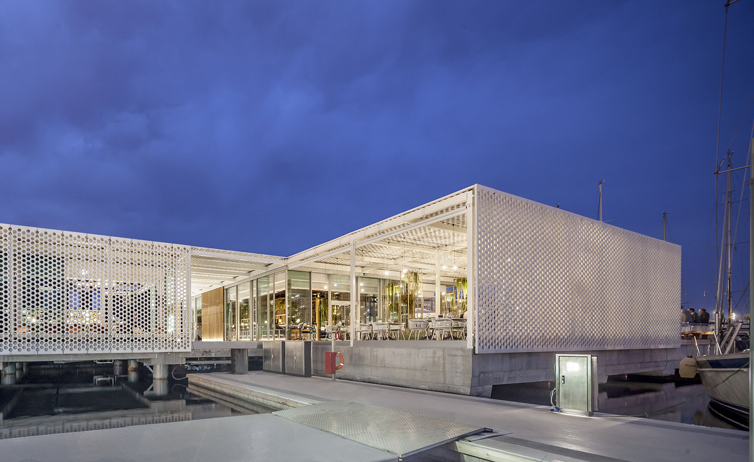 Oneocean Port Vell By Scob Archiscene Your Daily