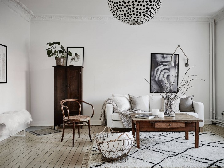 Swedish Interior Design On Nordhemsgatan 31 A