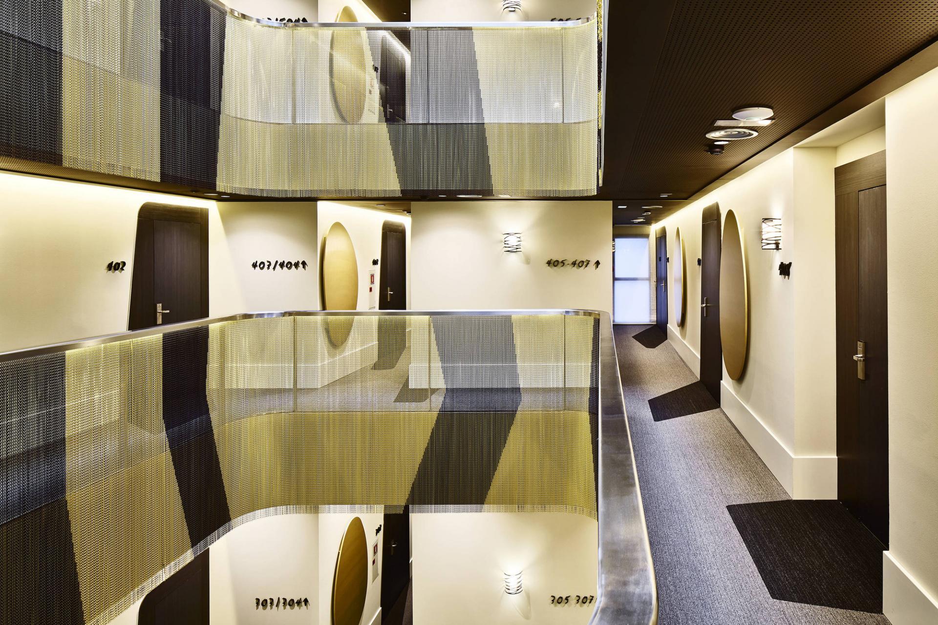the vincci gala hotel in barcelona archiscene your daily architecture design update. Black Bedroom Furniture Sets. Home Design Ideas