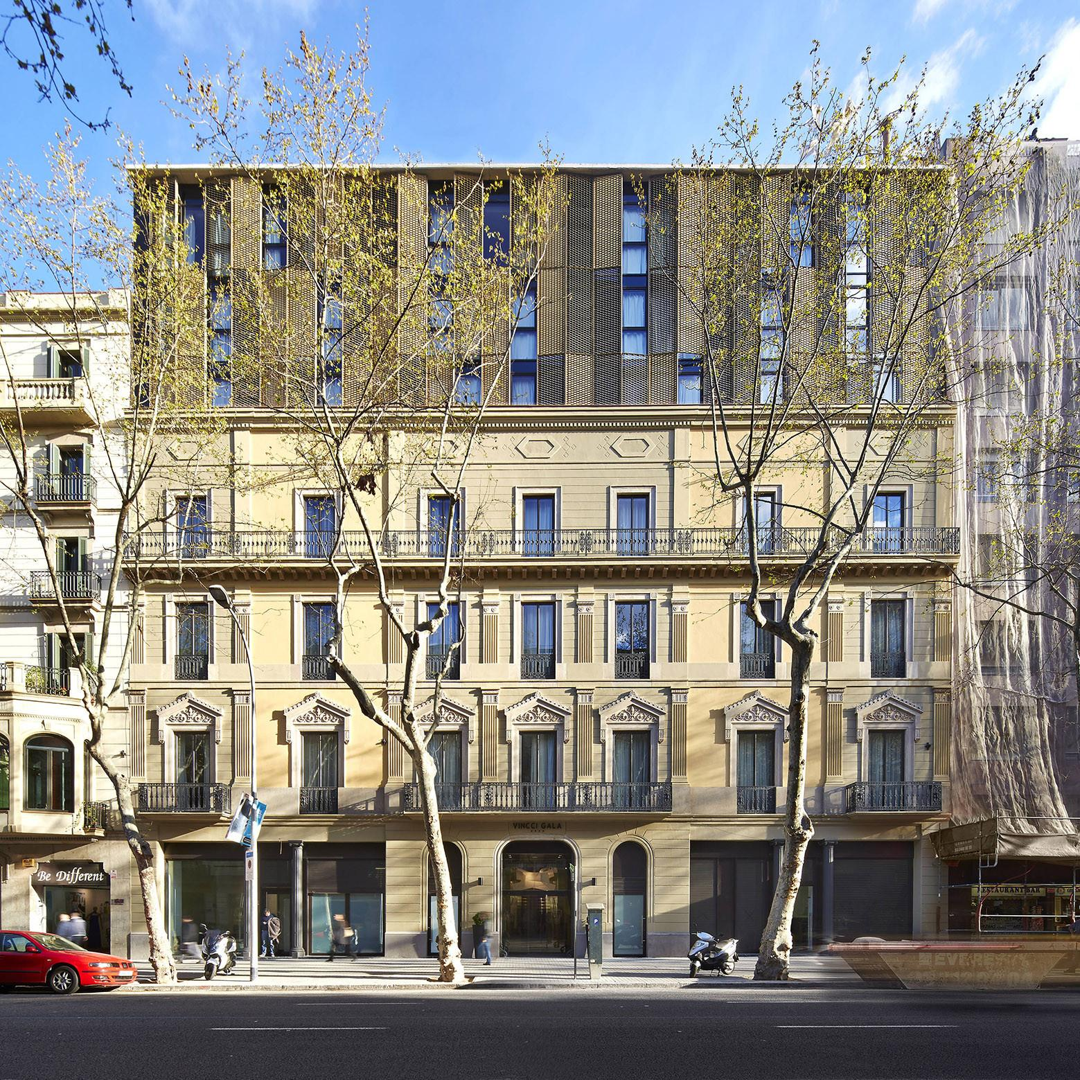 The Vincci Gala Hotel In Barcelona Archiscene Your