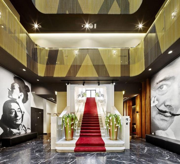 The vincci gala hotel in barcelona archiscene your - Hoteles vincci barcelona ...