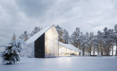 Winter House by Sergey Makhno Architects (1)