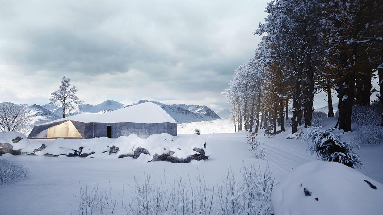 Winter House by Sergey Makhno Architects - Archiscene ...