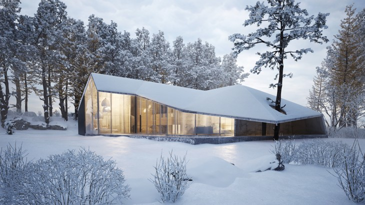 Winter House by Sergey Makhno Architects - Archiscene ...