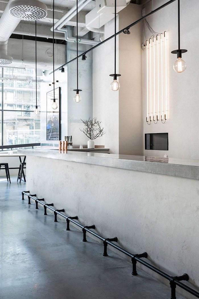 Usine Restaurant Interior By Richard Lindvall Archiscene