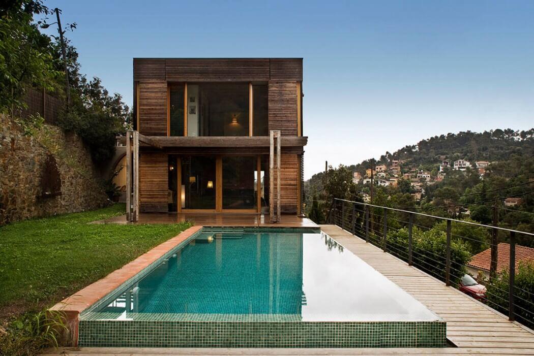 Wooden residence by noem archiscene your daily architecture design update - Viviendas ecologicas prefabricadas ...